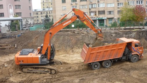 Вывоз грунта при строительстве дома